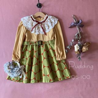 ✯韓国子供服 Pudding レトロクラシカルなワンピース*̩̩̥୨୧˖