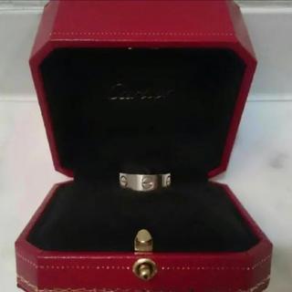 カルティエ(Cartier)のCartier カルティエ ラブリング ホワイトゴールド 46(リング(指輪))