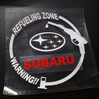 スバル(スバル)のスバル SUBARU 給油口 ステッカー(車外アクセサリ)