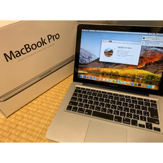 Mac (Apple) - 13インチmacbookpro メモリ16GB  512GB  office付き