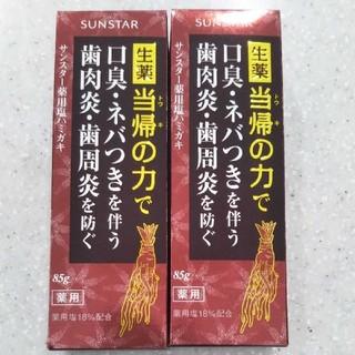 SUNSTAR - サンスター☆塩歯磨き粉【2個】