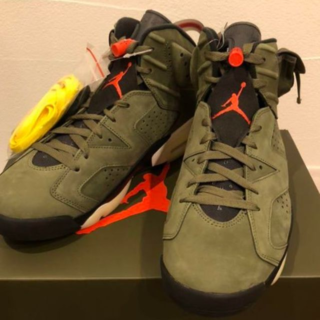 NIKE - 27.5cm AIR JORDAN 6 RETRO