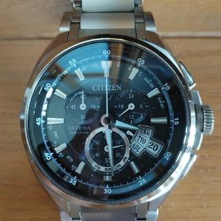 シチズン(CITIZEN)のシチズン アテッサ ジェットセッター 福山モデル 美品(腕時計(アナログ))