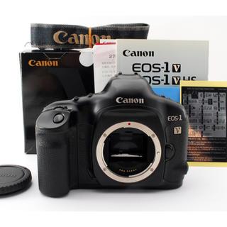キヤノン(Canon)のCANON EOS-1V ボディ 【希少な元箱付き】 #2991(フィルムカメラ)