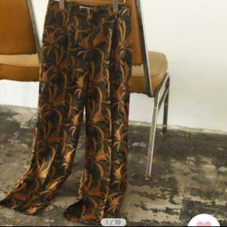 TODAYFUL - 新品 todayful Jacquard Slit Trousers