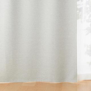 ムジルシリョウヒン(MUJI (無印良品))の無印良品 ポリエステル二重織ノンプリーツカーテン(カーテン)
