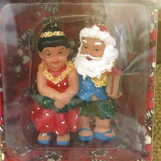 ハワイアン雑貨  クリスマスオーナメント(インテリア雑貨)