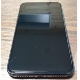 Apple - 美品iPhoneX64GBブラックディスプレイ新品交換後未使用SIMフリー