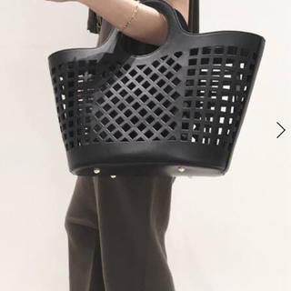 L'Appartement DEUXIEME CLASSE - ☆美品☆HEREU Leather Mesh Bag◆black