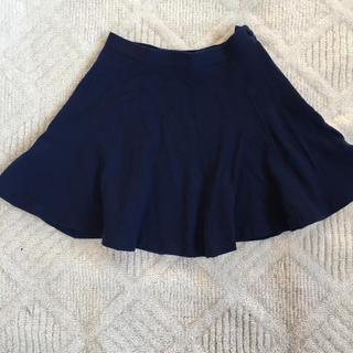 ギャップ(GAP)のギャップ GAP フレアー ミニスカート 紺色(ミニスカート)