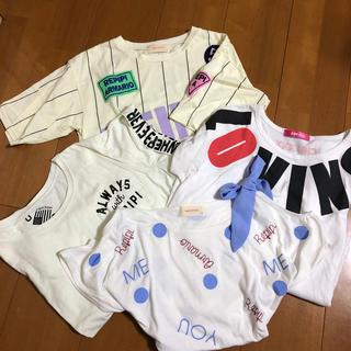 レピピアルマリオ(repipi armario)のレピピ 半袖セット(Tシャツ/カットソー)