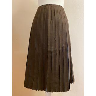 シビラ(Sybilla)のシビラ 圧縮ウール スカート(ひざ丈スカート)