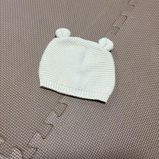 ギャップ(GAP)のGAP ブラナンベア ガーターニットキャップ 46cm 美品(帽子)