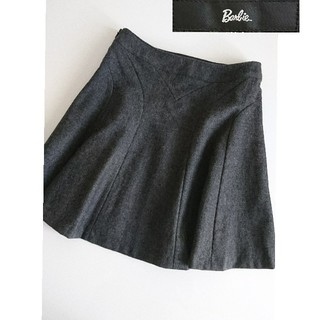 バービー(Barbie)のBarbie バービー スカート フレアースカート グレー(ひざ丈スカート)