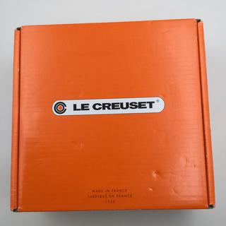 ルクルーゼ(LE CREUSET)の新品未使用 ルクルーゼ LE CREUSET  25001 鍋 オレンジ色(鍋/フライパン)