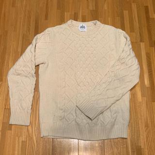 ユナイテッドアローズ(UNITED ARROWS)のユナイテッドアローズ ニットセーター メンズM  ウール100%(ニット/セーター)