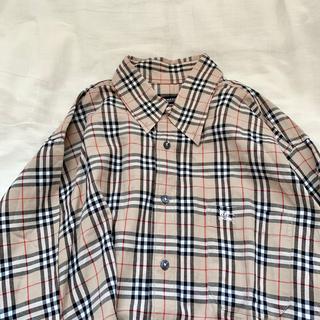 BURBERRY - BURBERRY ノバチェックシャツ バーバリー 古着 大きめ オーバーサイズ
