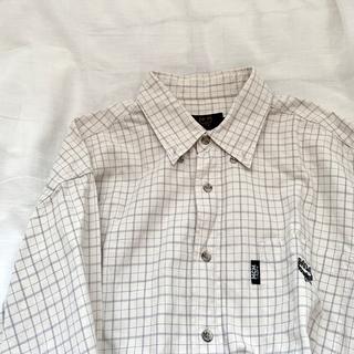 MCM - MCM チェックシャツ 大きめ 長袖 オーバーサイズ 韓国 古着