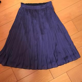 ローラアシュレイ(LAURA ASHLEY)のローラアシュレイのプリーツスカート(ひざ丈スカート)