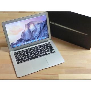 アップル(Apple)のMacBook Air 13-inch 新品SSD交換済み(ノートPC)