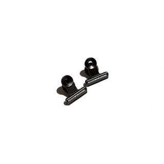 PEACEMINUSONE - PMO BULLDOG CLIP PIN SET #1 BLACK