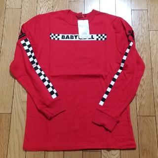ベビードール(BABYDOLL)のSサイズ★BABYDOLL★新品未使用★長袖Tシャツ(赤)(Tシャツ(長袖/七分))