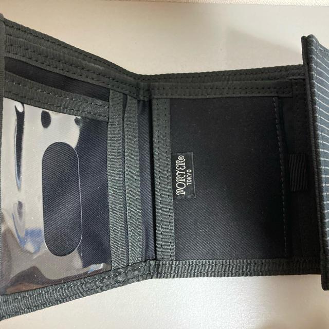 PORTER(ポーター)の美品 PORTER 二つ折り財布 メンズのファッション小物(折り財布)の商品写真