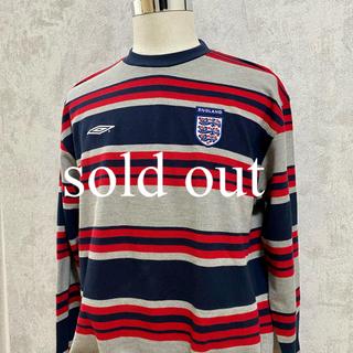 アンブロ(UMBRO)のアンブロ イングランド UMBRO トレーナーヴィンテージ  80s 90s(スウェット)