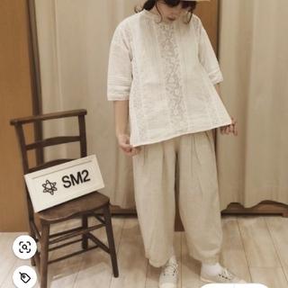 SM2 - SM2 新品綿麻バルーンパンツ