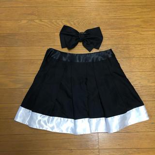 バービー(Barbie)のバービー ビックリボンフレアスカートM(ミニスカート)