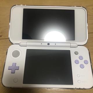 ニンテンドー2DS(ニンテンドー2DS)のニンテンドー 2DS LL ホワイト ラベンダー(携帯用ゲーム機本体)
