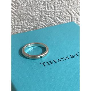 ティファニー(Tiffany & Co.)のティファニー スタッキングバンドリング エメラルド(リング(指輪))
