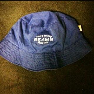 ビームス(BEAMS)のBEAMS バケットハット ネイビー ビームス 帽子(ハット)