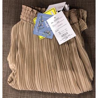 しまむら - 【新品・未使用】プチプラのあや プリーツ パンツ スカート ワンピース