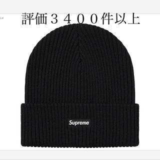シュプリーム(Supreme)のsupreme 20aw Wide Rib Beanie  Black黒ビーニー(ニット帽/ビーニー)