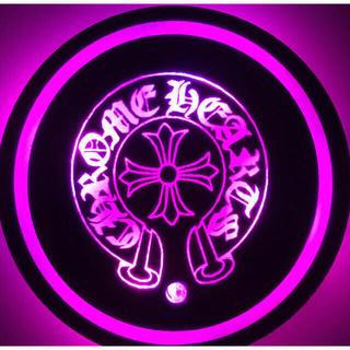 Chrome Hearts - ★★★激レア!★LEDコースター★★レインボーグラデーション★光るLED