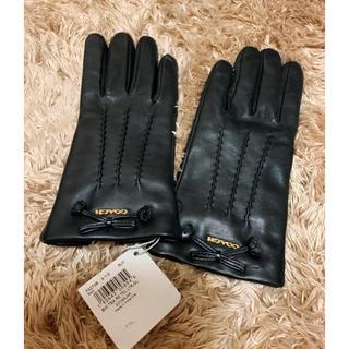 コーチ(COACH)の新品 正規品 COACH コーチ 手袋 グローブ レザー(手袋)