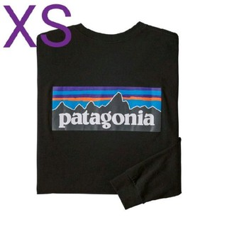 patagonia - XSサイズ PATAGONIA LONG SLEEVE P-6 LOGO