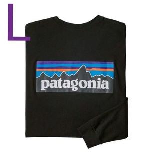 patagonia - Lサイズ  tシャツ P-6ロゴ レスポンシビリ