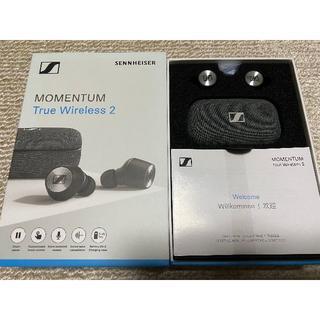 ゼンハイザー(SENNHEISER)のSennheiser MOMENTUM True Wireless 2 ブラック(ヘッドフォン/イヤフォン)