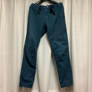マムート(Mammut)のマムート メンズ パンツ XL   カーゴパンツ ワークパンツ ブルー グリーン(ワークパンツ/カーゴパンツ)