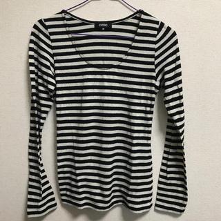オゾック(OZOC)のオゾック  ボーダー トップス ロンT(Tシャツ(長袖/七分))
