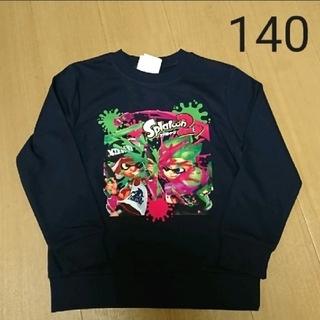 ニンテンドウ(任天堂)の男の子 トレーナー スプラトゥーン シャツ(Tシャツ/カットソー)