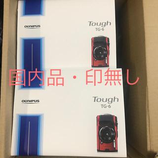 OLYMPUS - 新品未使用 OLYMPUS Tough TG-6 BLACK&RED