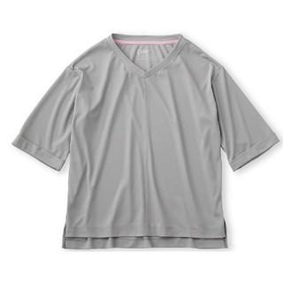フェリシモ(FELISSIMO)のフェリシモ スポーツウェアで作った吸水速乾きれいめトップス(Tシャツ(半袖/袖なし))