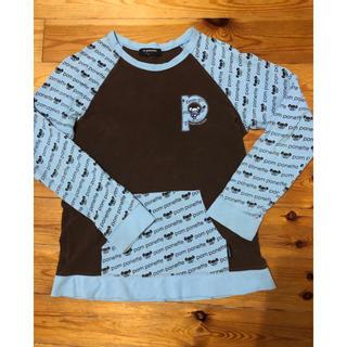 ナルミヤ インターナショナル(NARUMIYA INTERNATIONAL)のポンポネット 長袖Tシャツ 160 L くま ナルミヤ (Tシャツ/カットソー)