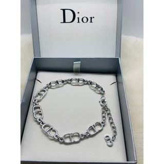 クリスチャンディオール(Christian Dior)の【未使用 】クリスチャン ディオール CDロゴブレスレット/シルバー/R93(ブレスレット/バングル)