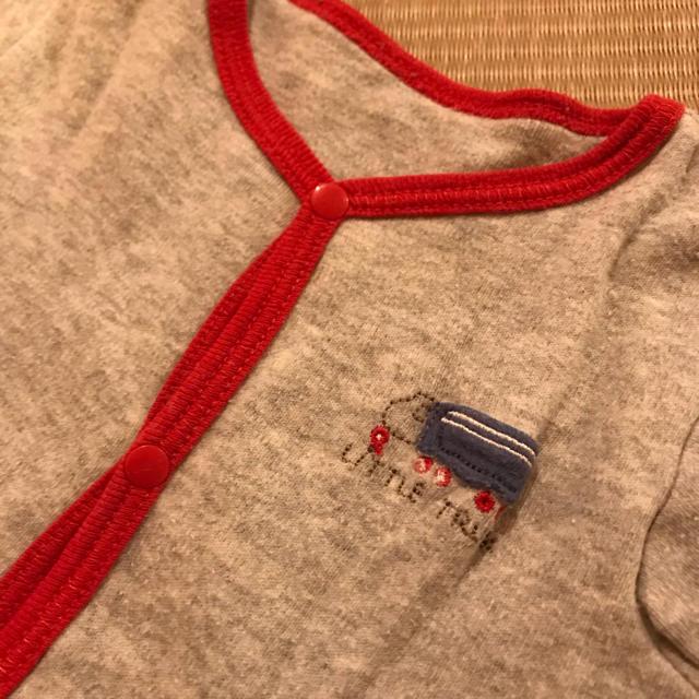 ampersand(アンパサンド)の冬生まれ 長袖ロンパースセット 肌着 60cm キッズ/ベビー/マタニティのベビー服(~85cm)(ロンパース)の商品写真