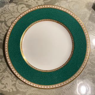 ウェッジウッド(WEDGWOOD)の希少 ウェッジウッド ユーランダーパウダー グリーン 20.5 緑壺 未使用品(食器)