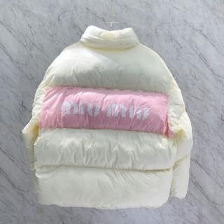 ミュウミュウ(miumiu)の新しいファッションカスタムダウンジャケット(ダウンジャケット)